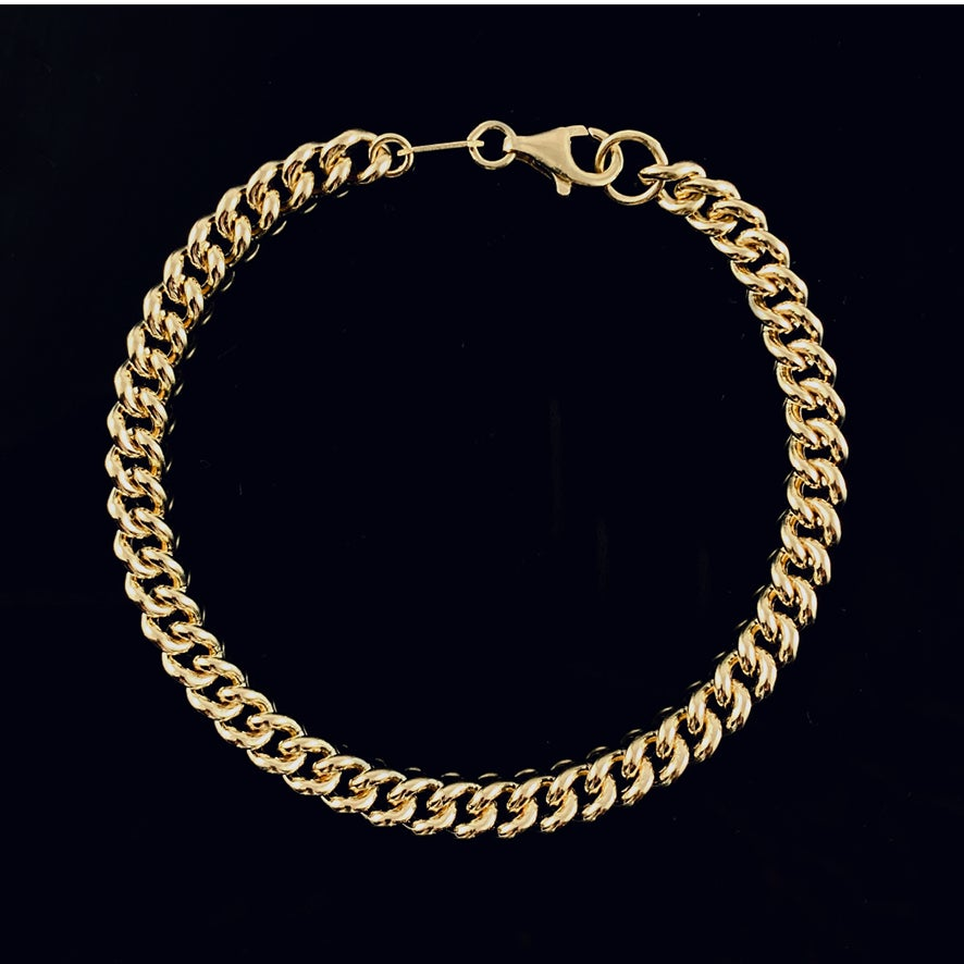 Image of Coco bracelet / 24k gold-coated silver