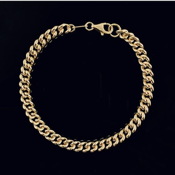 Image of Coco bracelet / 24k gold-coated silver