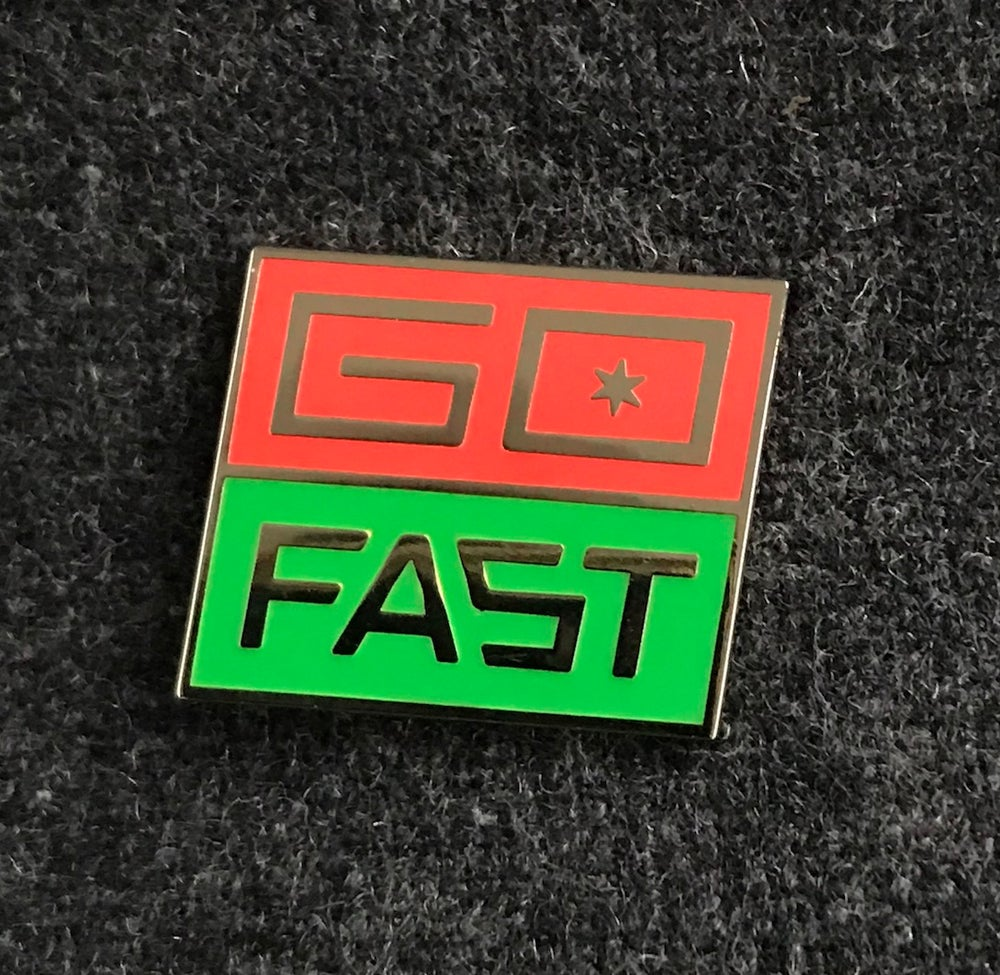 Image of Go Fast Badge