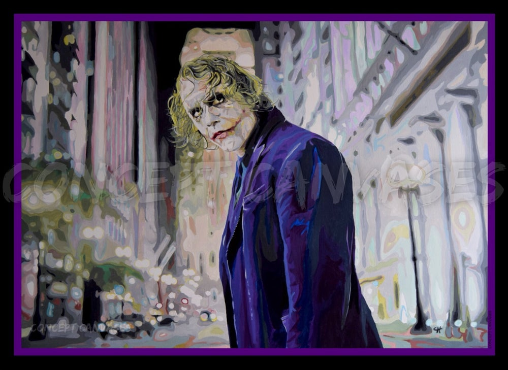 Image of The Joker 'Ahead Of The Curve' A3 Print