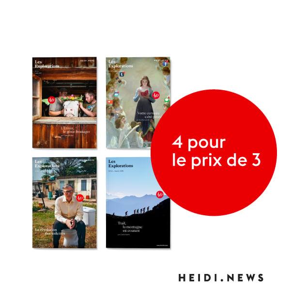 Image of Les Revues des Explorations - 4 pour le prix de 3