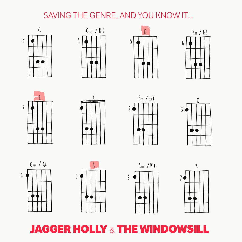 Image of Jagger Holly / Windowsill - Saving The Genre, And You Know It... split 10""