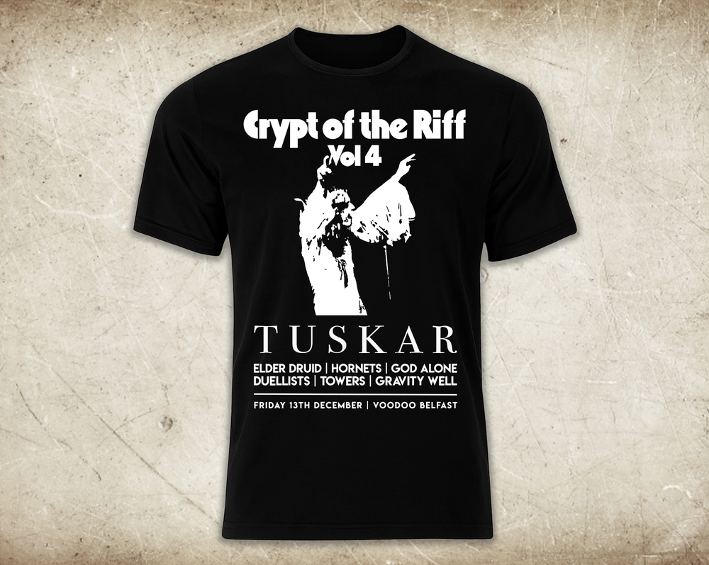 Image of Crypt of the Riff Vol. 4 T-shirt