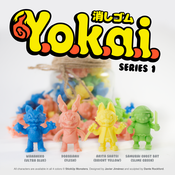 Image of YOKAI Keshi Set (Series 1)