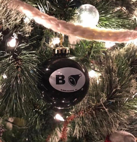 Image of B'ham Christmas Ornament