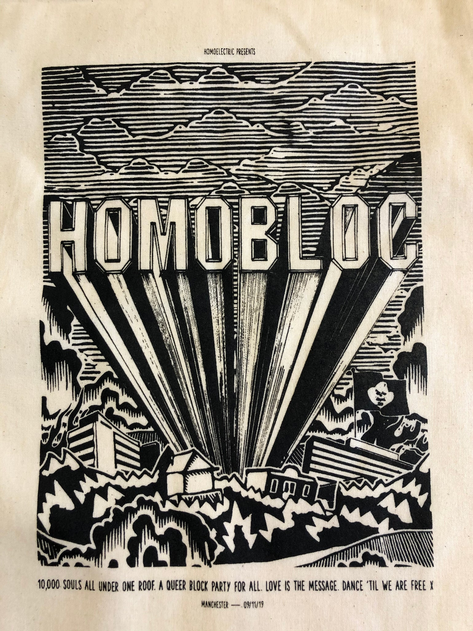 Image of Homobloc tote bag