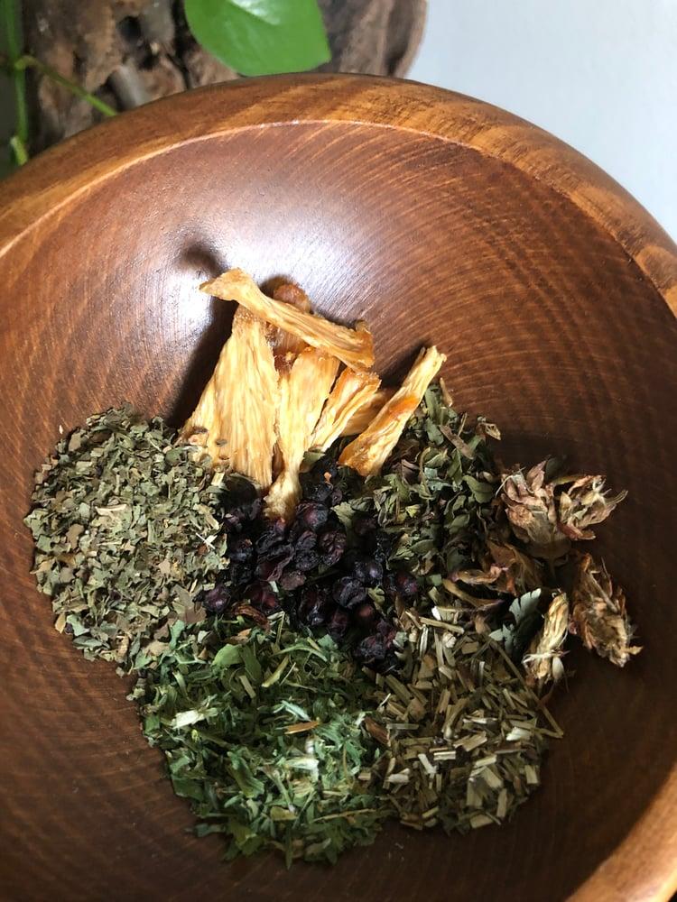 Image of Pineapple Basil Mint Tea
