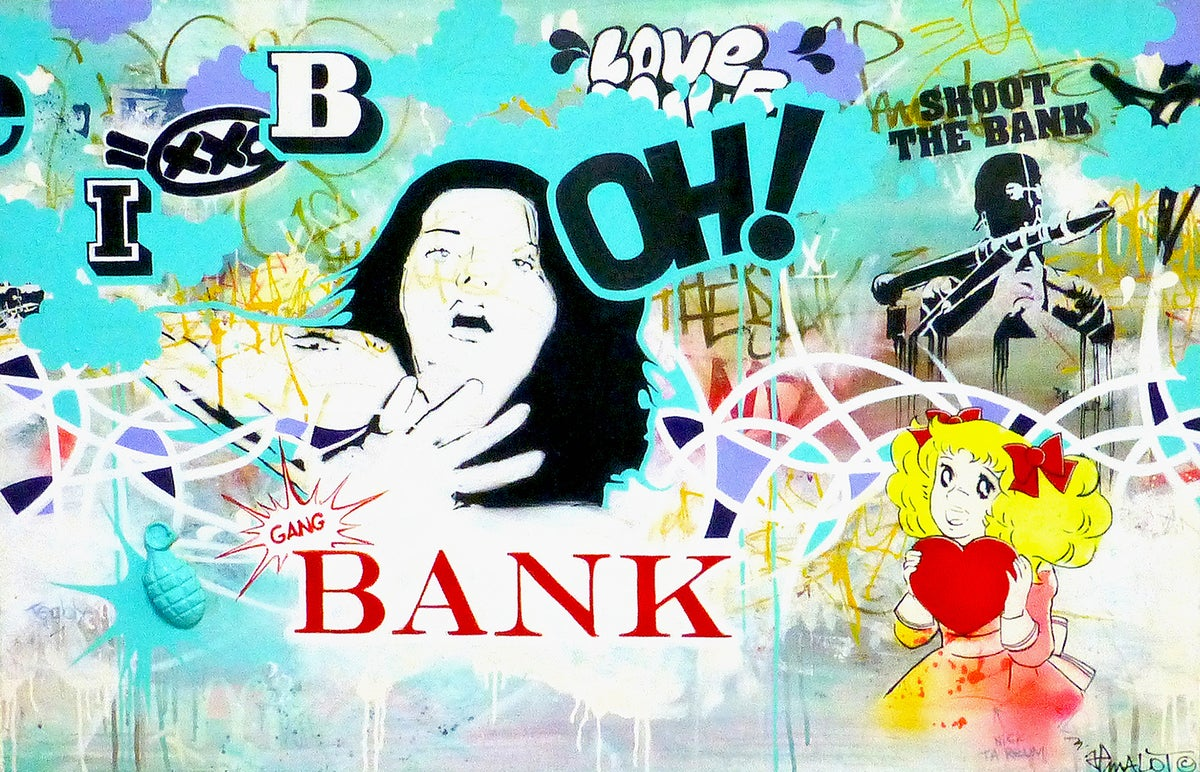 Image of OH! GANG BANK! 81X116 CM