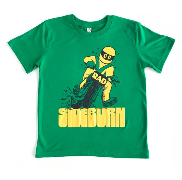 Image of Rad Kid's T-shirt - Green