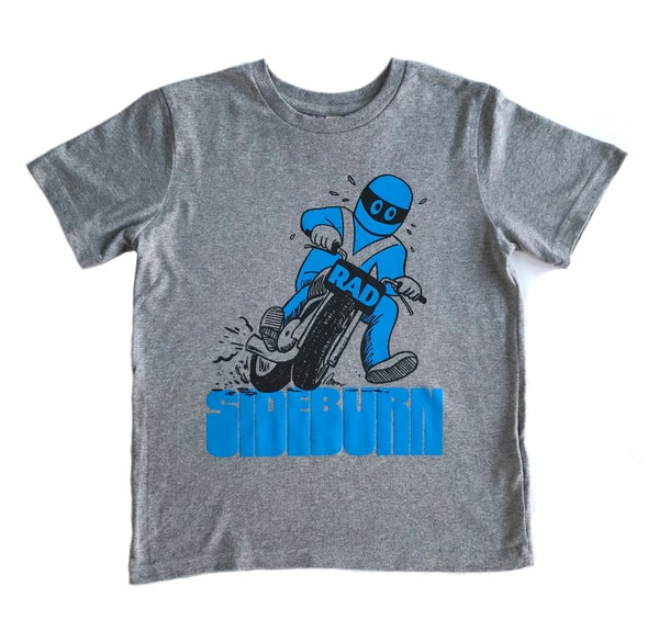 Image of Rad Kid's T-shirt - Grey