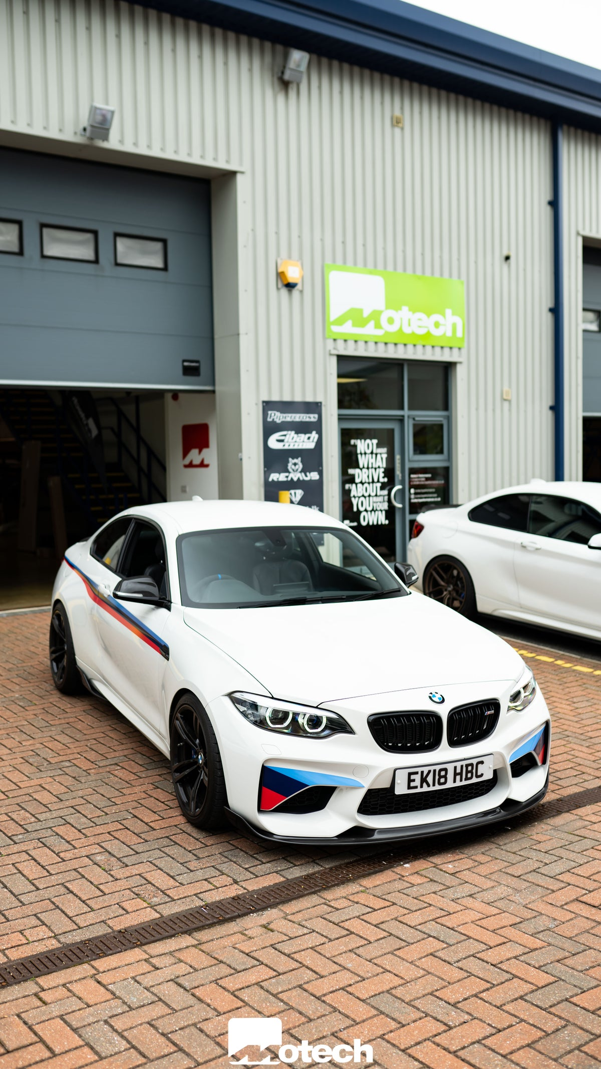 Image of BMW M2 Carbon Fibre GP Front Splitter