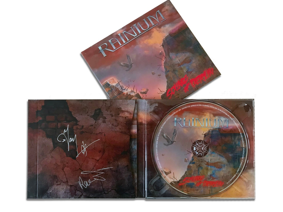 Image of SIGNED COPY of Sounds Of Berlin, RAINIUM, Audio CD Digipack