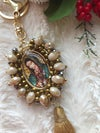 Virgencita/San Judas- Double Sided Image Keychain