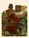 "Kishi Bashi (Sept–Nov 2019 U.S. Tour) • L.E. Official Poster (18"" x 24"")"
