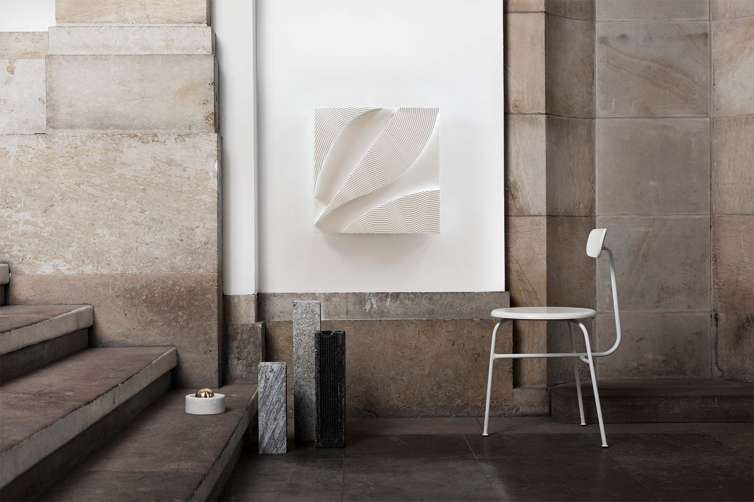 Image of Relief · White No. 2 (sold)