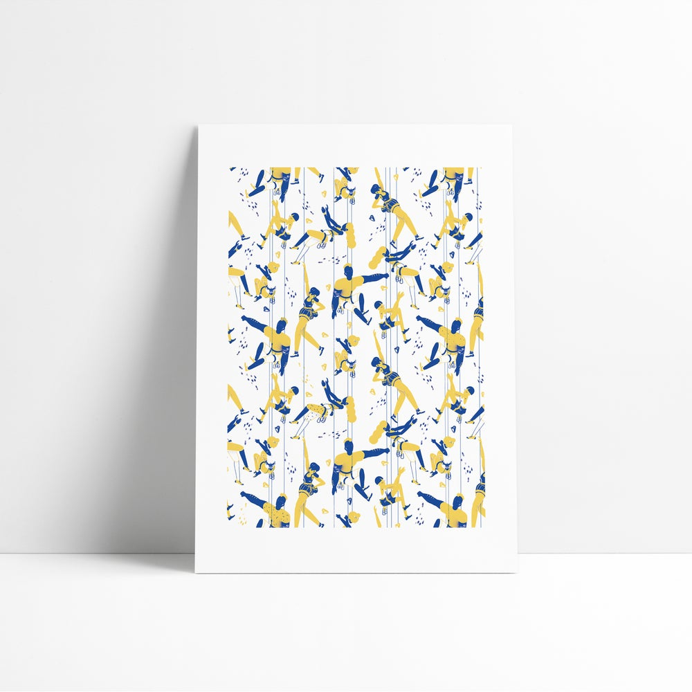 Image of Limited Edition Climbers Pattern