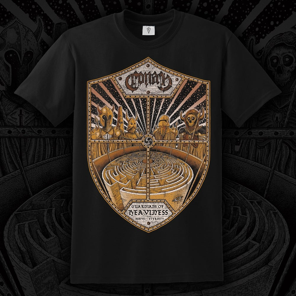 Image of NEW DESIGN - Guardians of Heaviness T Shirt