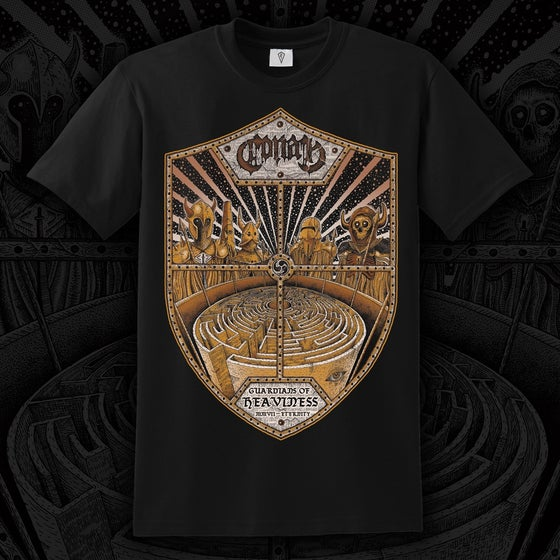 Image of NEW DESIGN - Guardians of Heaviness T Shirt 3XL ONLY