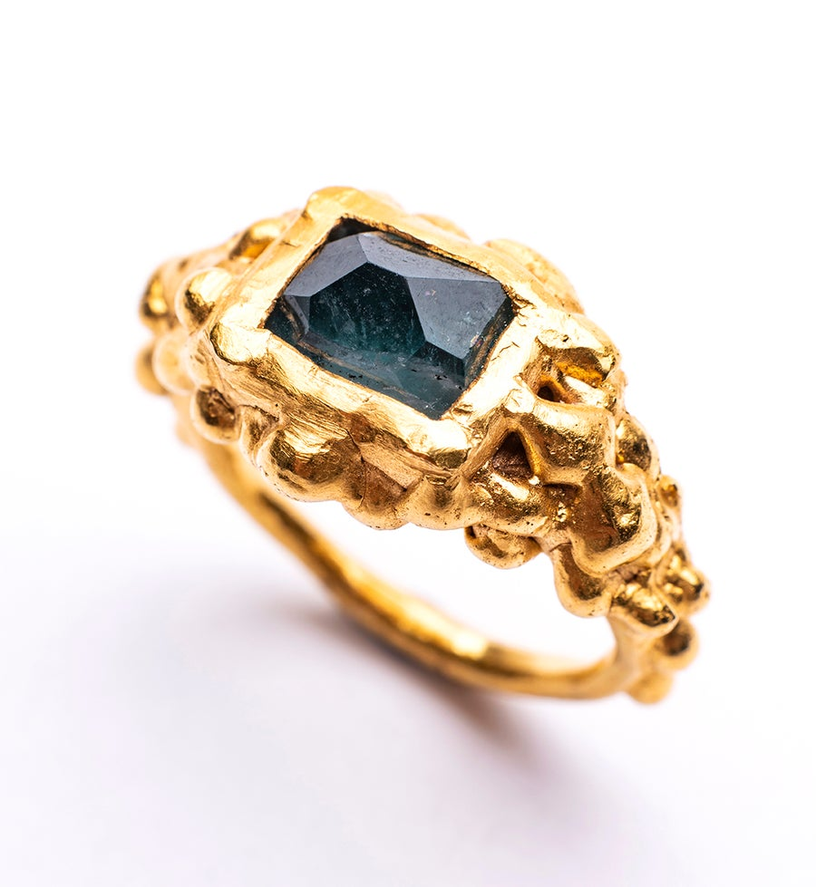 Image of Plethora ring - Tourmaline 4