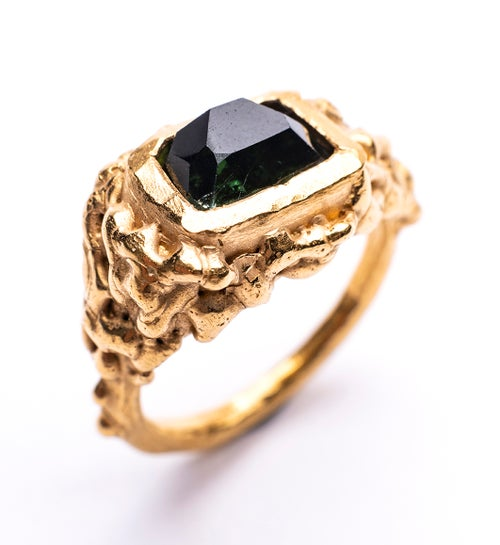 Image of Plethora ring - Tourmaline 5