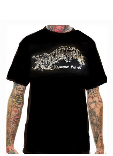 Image of XecutionStyle logo T (men's) black