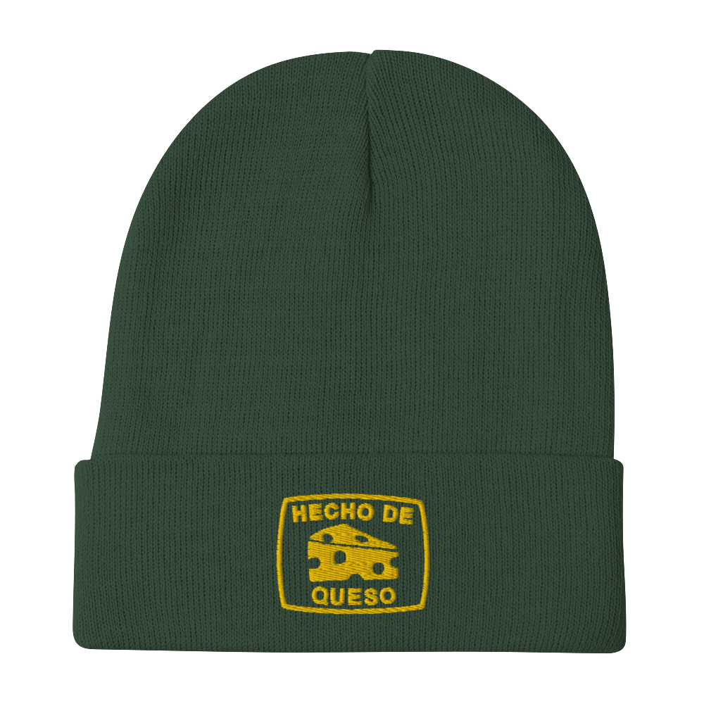 Image of HECHO DE QUESO CUFFED BEANIE (2 COLORS)