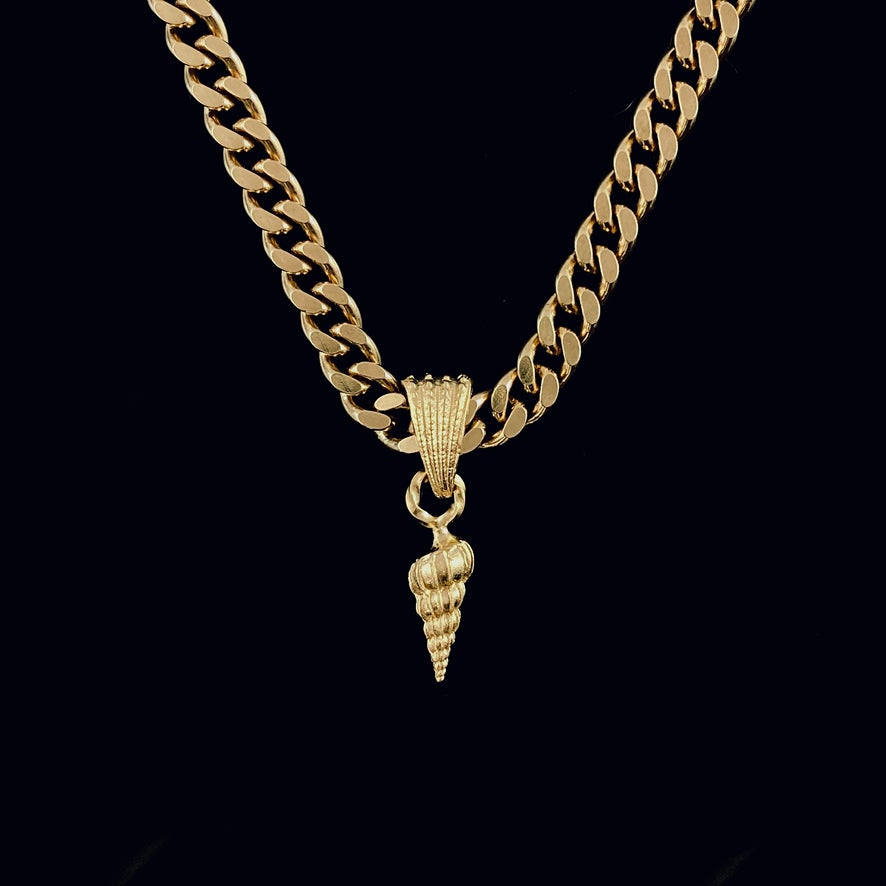 Image of Lara Necklace / 24k gold-coated silver