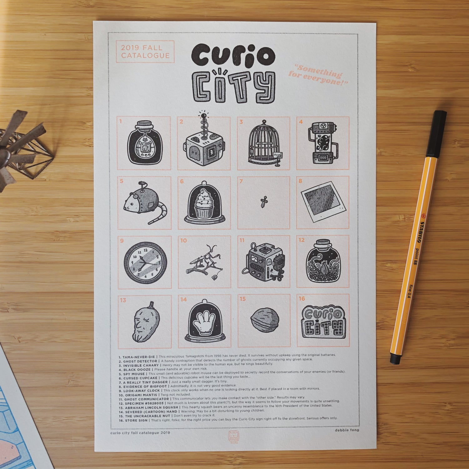 Image of CURIO CITY RISO PRINT