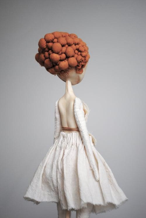 Image of ovum ii mimic: in bone & marigold no. 2