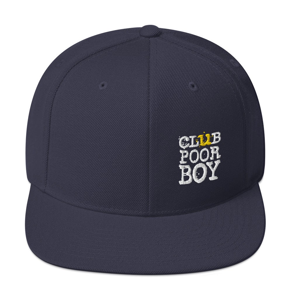 Image of CLUB POOR BOY SNAP BACK HAT