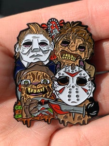 "Image of Slashers 2"" Enamel Pin"