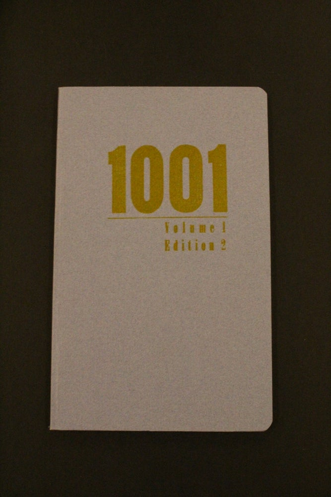 Image of 1001 Journal Issue 1 Edition 2