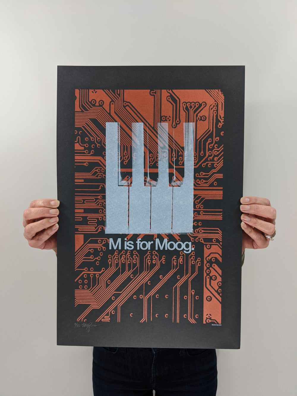 """""""M is for Moog"""" (Copper Edition)"""