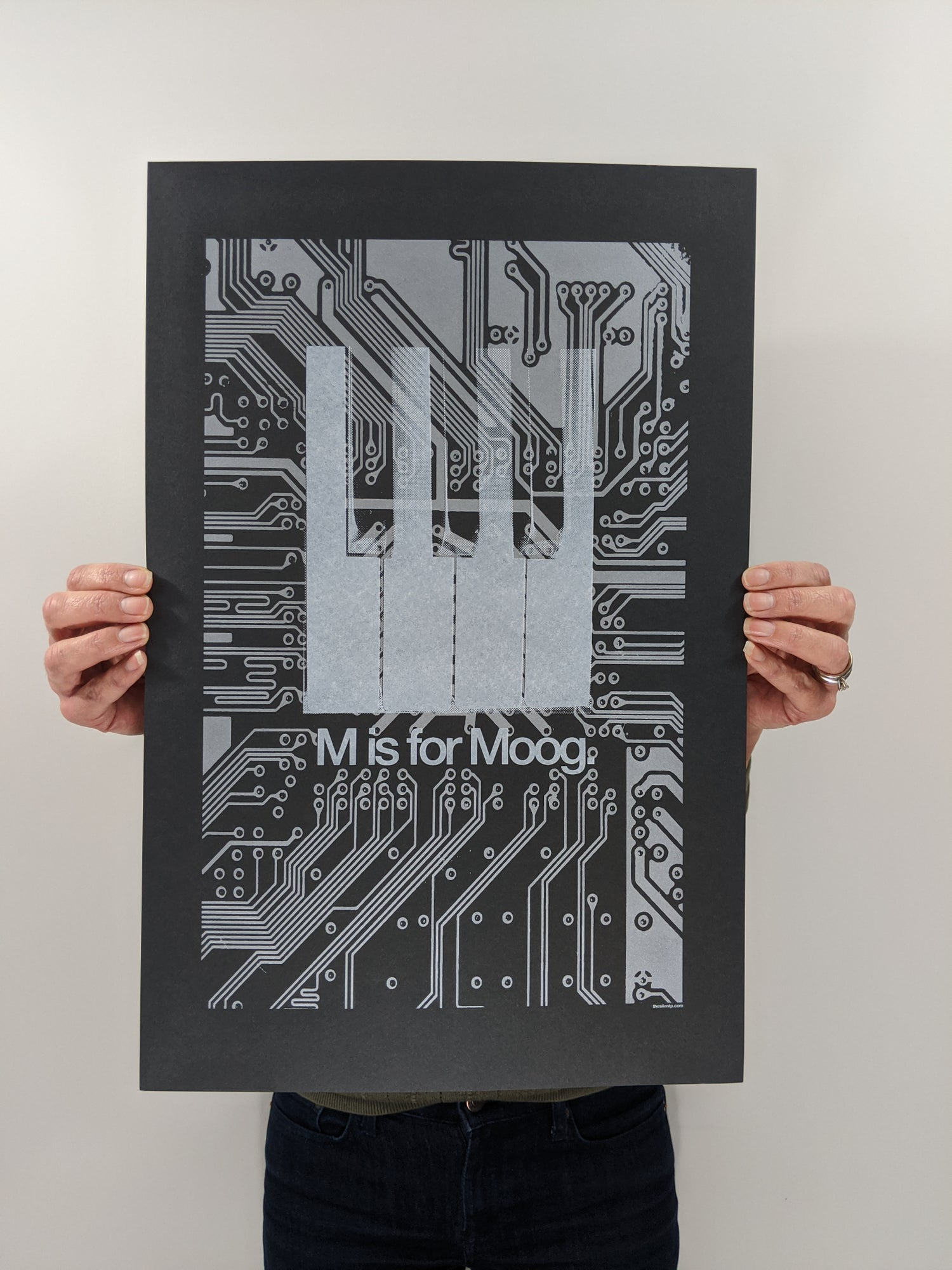 """Image of """"M is for Moog"""" (Silver Edition)"""
