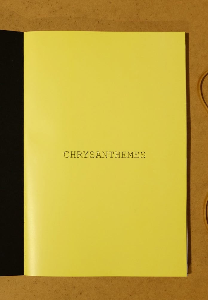 Image of  CHRYSANTHEMES (LIVRE EN PRECOMMANDE)