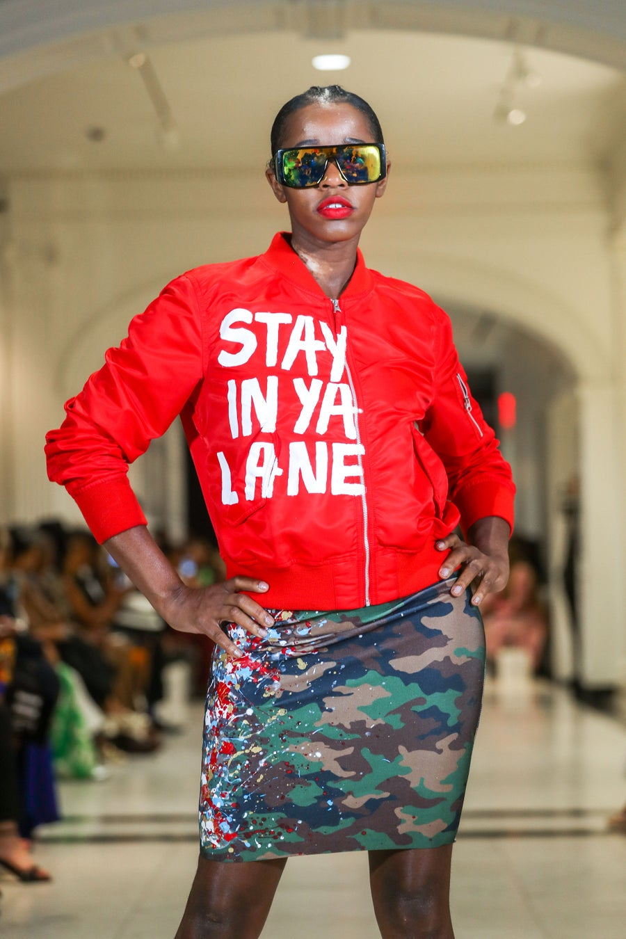 Image of Stay In Ya Lane Flight Jacket