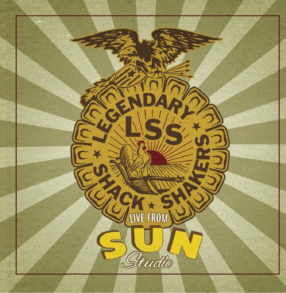 Image of Legendary Shack Shakers- Live From Sun Studio PREORDER