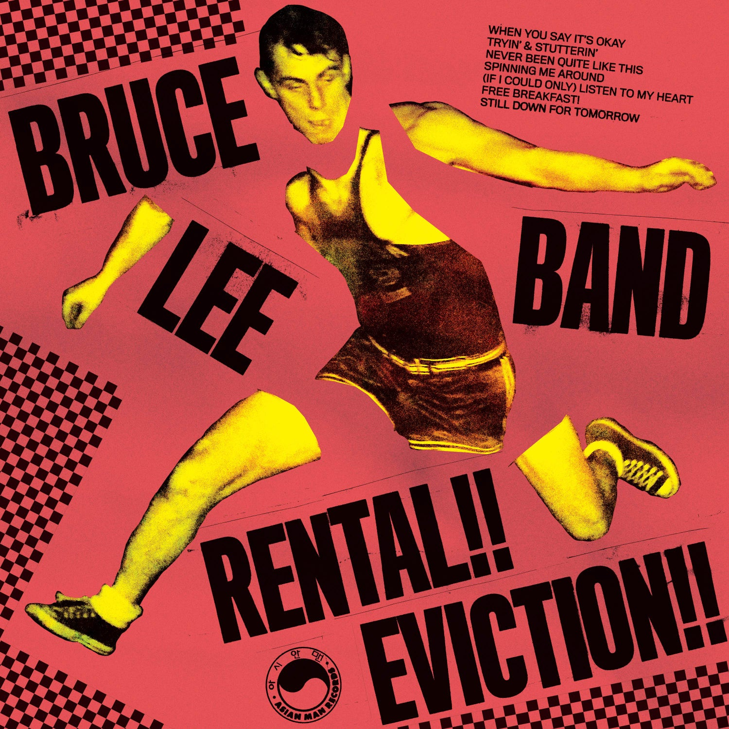 Image of BRUCE LEE BAND - RENTAL!! EVICTION!! / COMMUNITY SUPPORT GROUP 12""