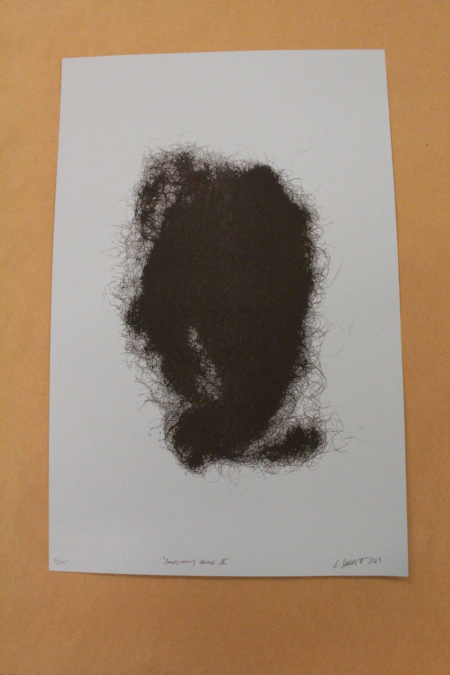 "Image of Lisa Jarrett ""Imaginary Home II"" Risograph Print"