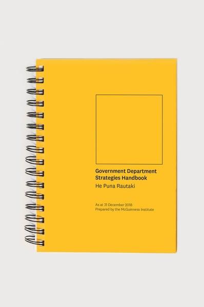 Image of Government Department Strategies Handbook - He Puna Rautaki