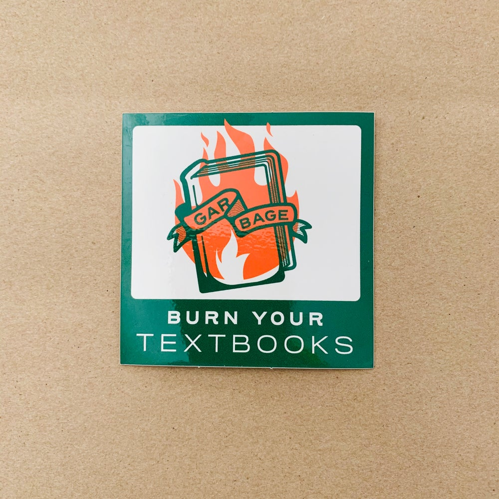 Image of Rad Pack 001: Burn Your Textbooks