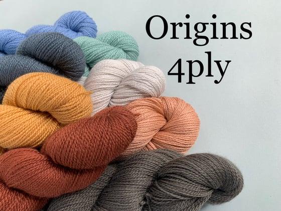 Image of Origins Polwarth Yarn - 4ply / Fingering - 100g Skein or Ball