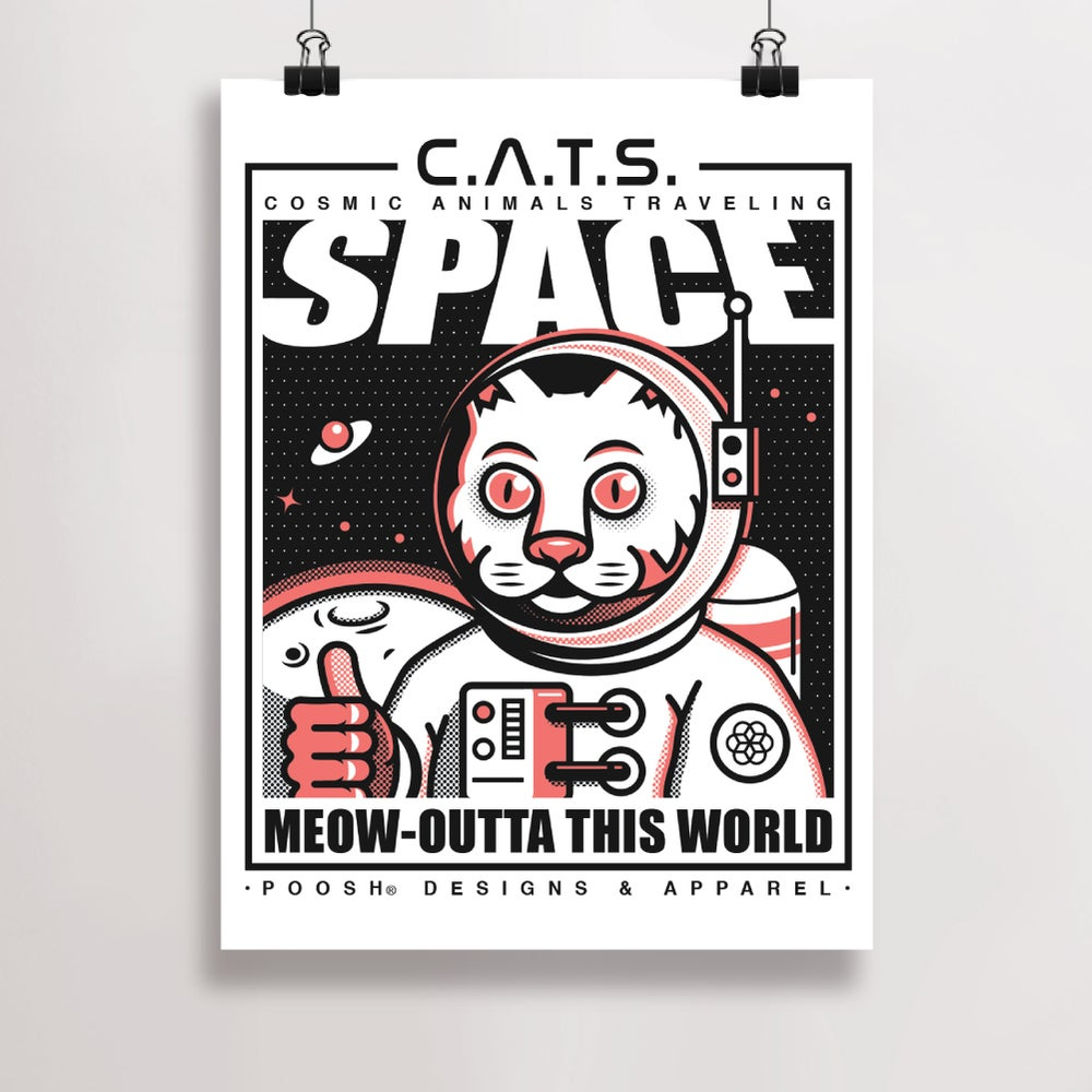 Image of Space Cats | Print