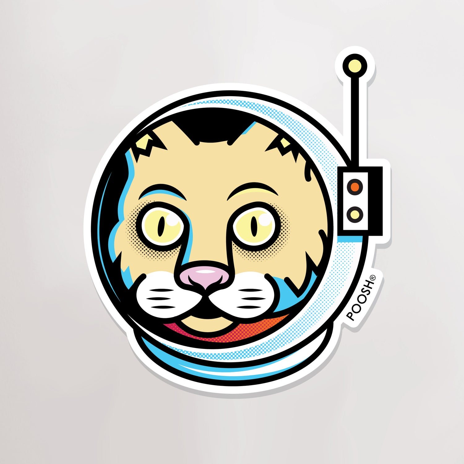 Image of Space Cat | Stickers