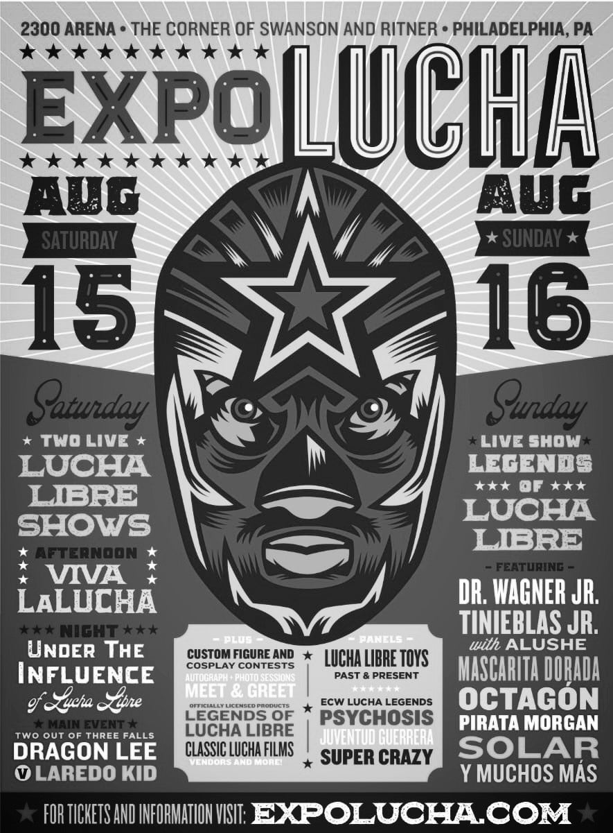 Image of Expo Lucha: Philadelphia Platinum VIP