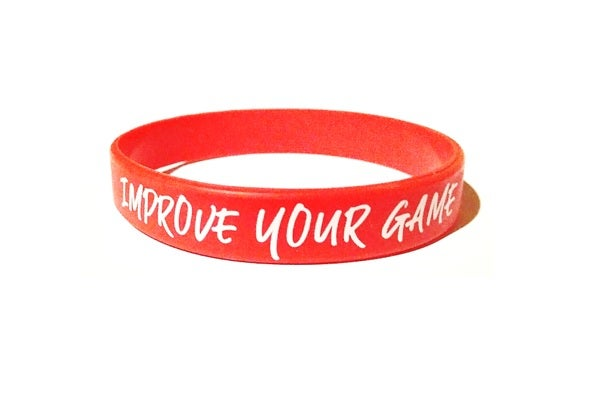 Image of Pulsera Improve Your Game RED