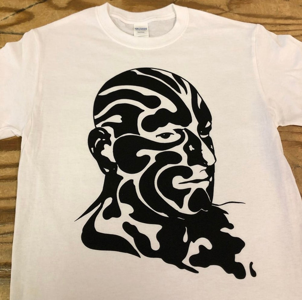 Image of Great Omi t-shirts - designed by Paul Sayce.