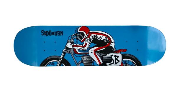 Image of Sideburn San Jose Skate Deck