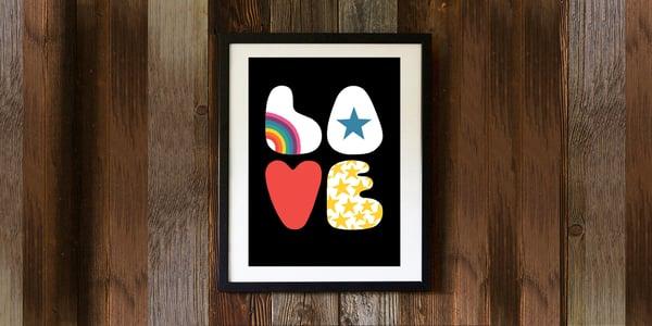 Image of LOVE DETAIL - signed, digital print