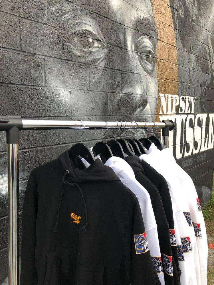 Image of GAC NC STREET CULTURE HOODIE - BLACK